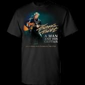 Travis Tritt Black Live Tee-  A Man and His Guitar