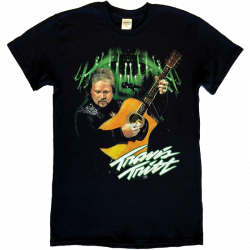 Travis Tritt Black Live Tour Tee