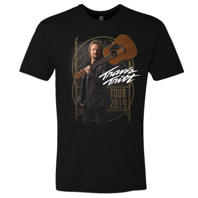 Travis Tritt 2019 Black Tour Tee