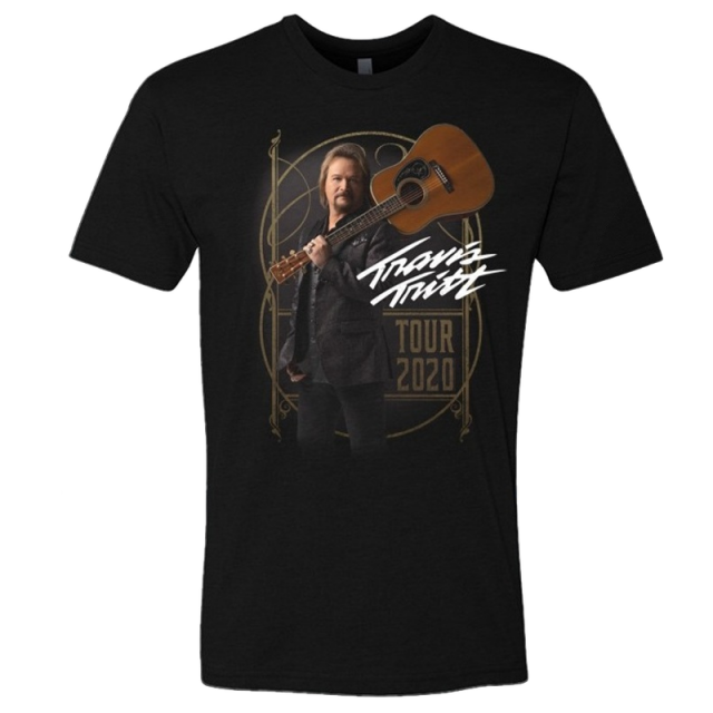 Travis Tritt 2020 Black Tour Tee