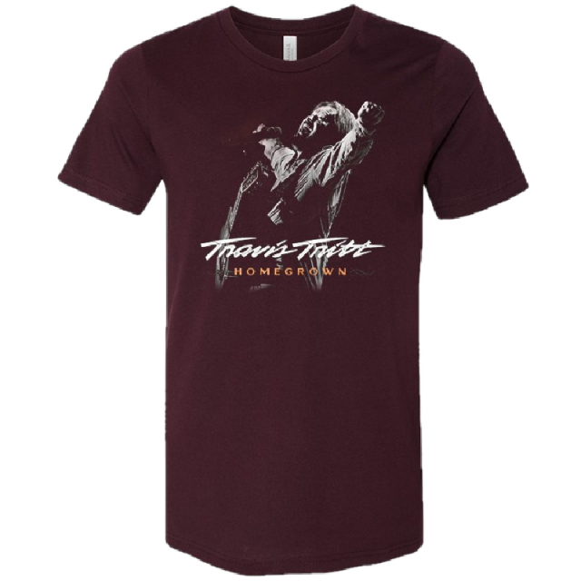 Travis Tritt Oxblood Homegrown Tee