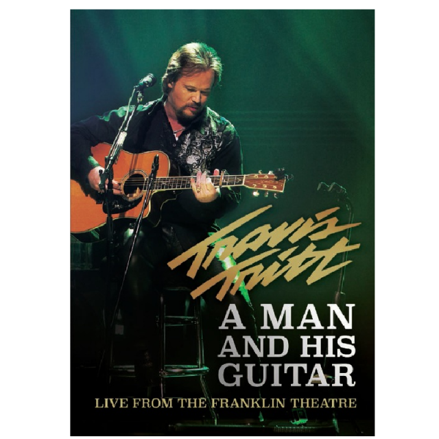 Travis Tritt DVD- A Man and His Guitar