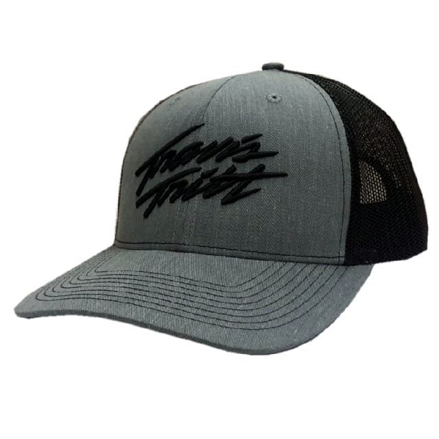 Travis Tritt Heather Grey and Black Ballcap